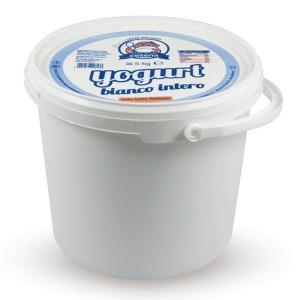 Yog.Secchio 5kg Bianco