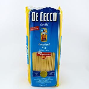 Pasta Dececco 500gr Bucatini
