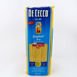 Pasta Dececco 1kg Spaghetti N 12