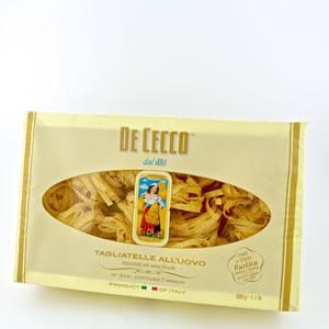 Pasta Dececco All'Uovo 500gr Tagliatelle