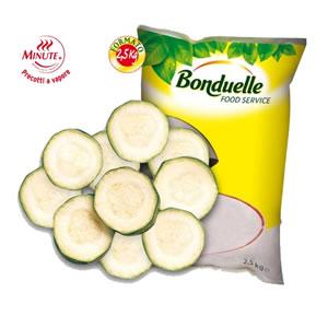 Ver.Zucchine Rondella Bonduelle 4x2.5kg