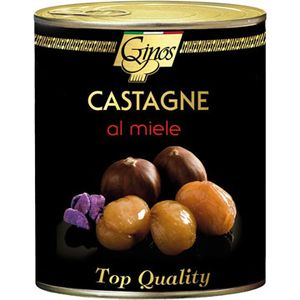 Sca.Fru.Castagne Al Miele 1kg Ginos