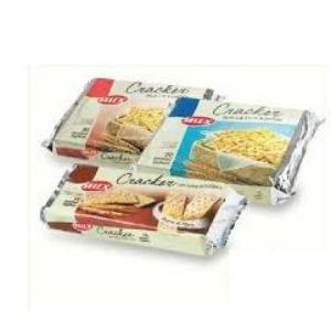 Conf.Crackers Integrali Slx 400gr