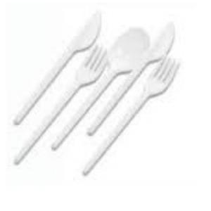 Plastica Cucchiaini Vanto 100pz
