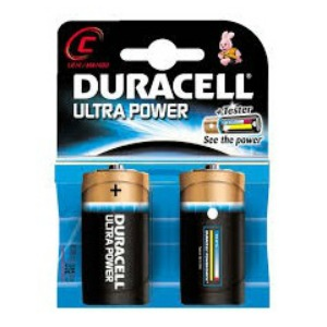 Pile 2duracell Torcia Ultra Power