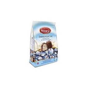 Cioc.Cioccolatini Bianco Cuore 250gr Witors