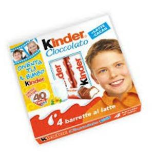 Ferr.Kinder Cioccolato 4x20gr