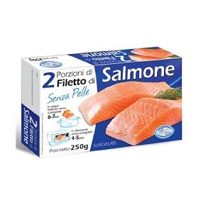 Fam.Pesce 2 Porzioni Di Salmone 12x250gr