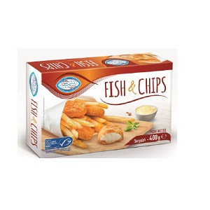 Fam.Pesce Fish E Chips 8x400gr
