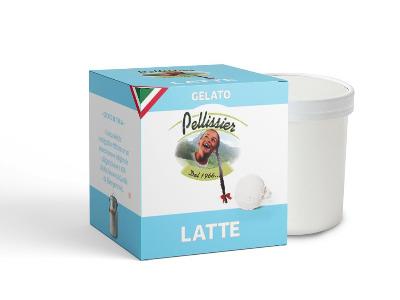 Fam.Vas.Pellissier Gel.320gr Latte