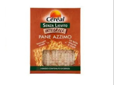 Conf.Pane Azzimo Interg. S/Liev.Cereal 180gr